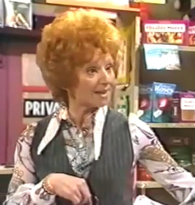 Wishing Barbara Knox a very Happy 85th Birthday! Long may she reign as Queen of the Cobbles!!
