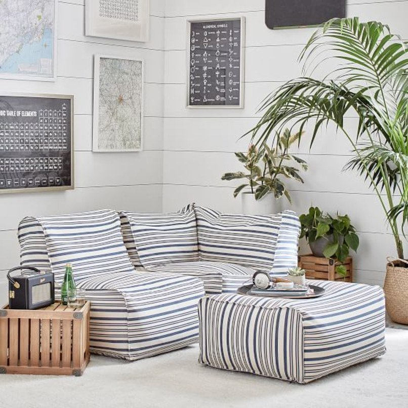 Groovy Architectural Digest On Twitter A Bean Bag Sofa Will Make Unemploymentrelief Wooden Chair Designs For Living Room Unemploymentrelieforg