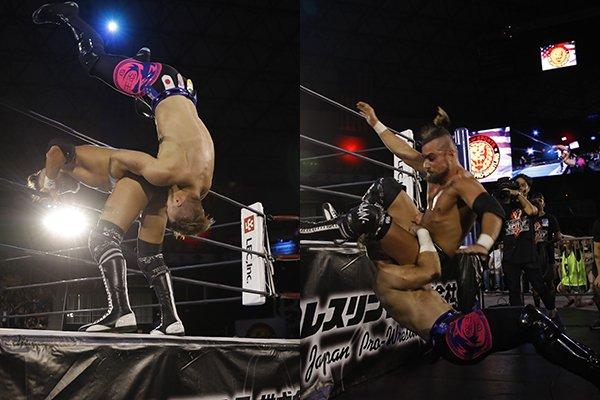 "NJPW:""Fighting Spirit Unleashed"" Golden Lovers, Cody y GOD, ganadores 4"