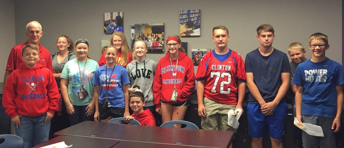 Fellowship of Christian Athletes (FCA) meets this Friday at 7:20am in the Media Center. All CMS students are welcome. 😀 @CMSCardinals