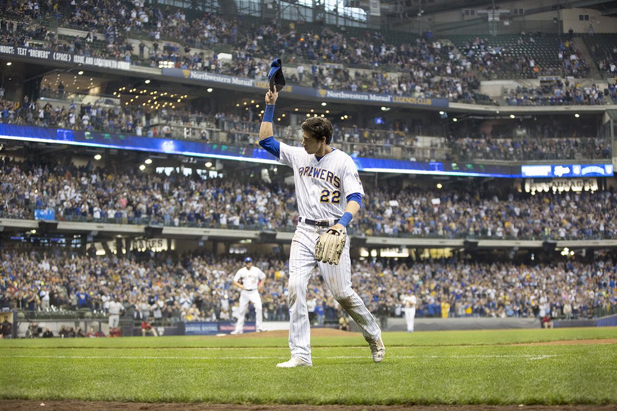 Brewers win Game 1️⃣6️⃣2️⃣!  Thank you for your support at Miller Park all season long. We can't wait to see you back here later this week. Hopefully much later.  #OurCrewOurOctober https://t.co/W7fGq6RfTE