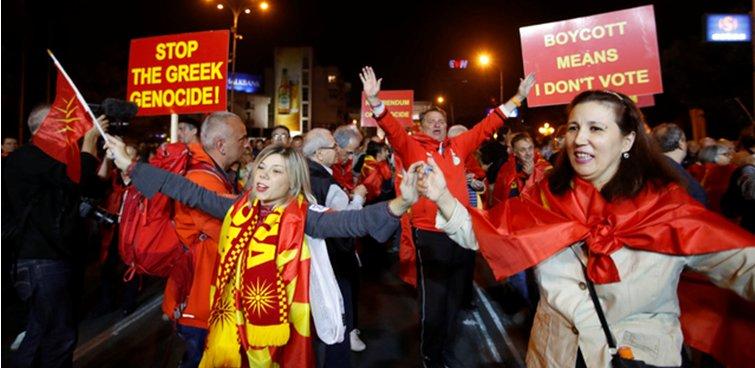 Референдум в Македонии провалился
