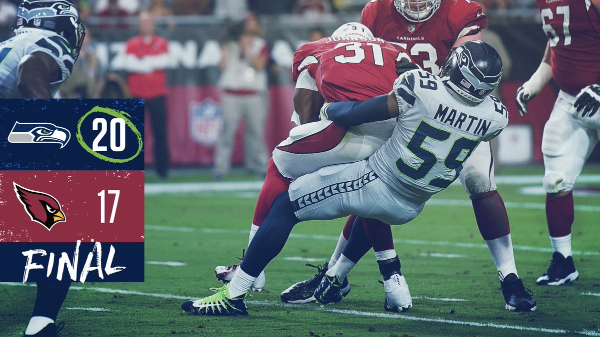 #SEAHAWKS WIN AT THE BUZZER!!! #SEAvsAZ