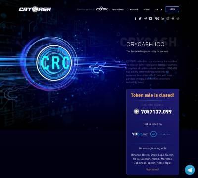 CryCash description