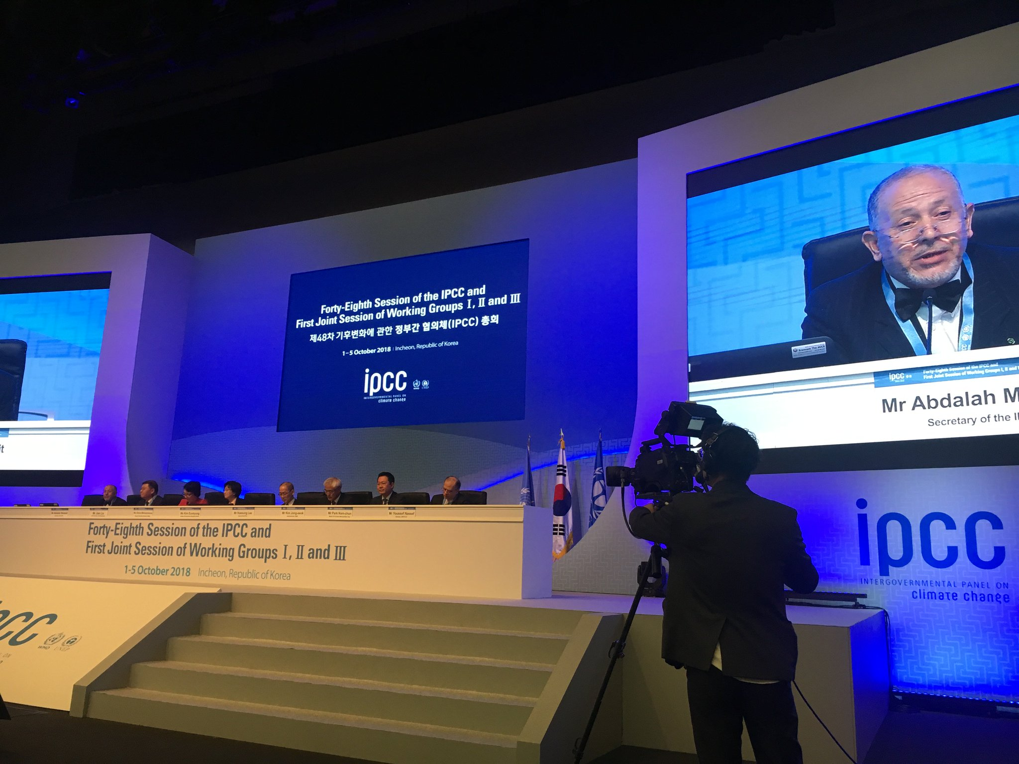IPCC On Twitter Opening Ceremony Of 48th Session In The Republic Korea SR15 MOEKorea Kma Weather WMO UNEnvironment UNFCCC