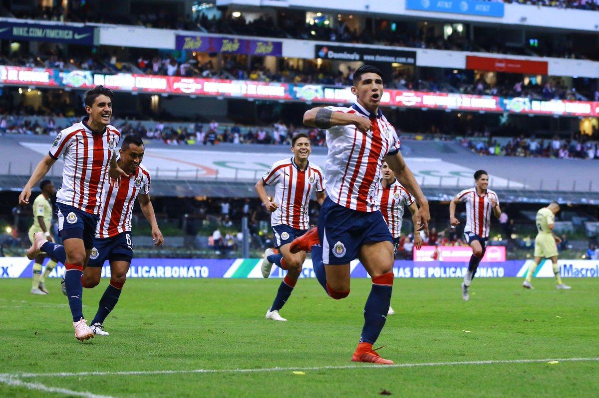Goles del América vs Chivas