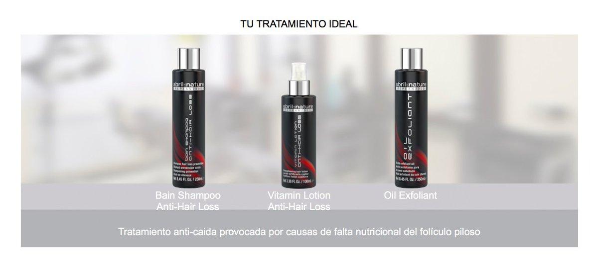 Tratamiento anti-caida provocada por causas de falta nutricional del folículo  piloso. Gama de productos  abriletnature en Sara Ruesga Peluquería y Belleza  ... 3c6b6571d89a