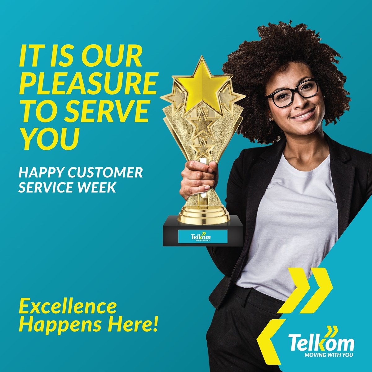 It's #CustomerServiceWeek! The week where we appreciate all our lovely customers! 😍 It's our pleasure to always serve you and this week, we've got goodies to say thank you! 🙌 So be on the look out! 🔥😎