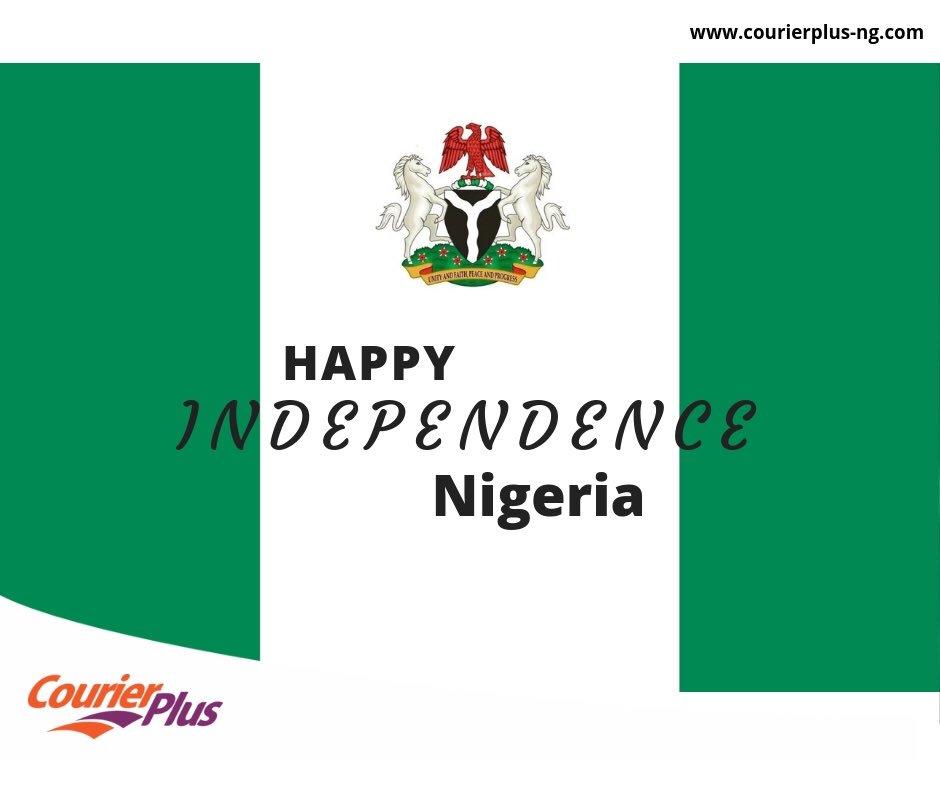We wish all Nigerians a happy Independence Day celebration. #independencedaynigeria2018 #courierplus