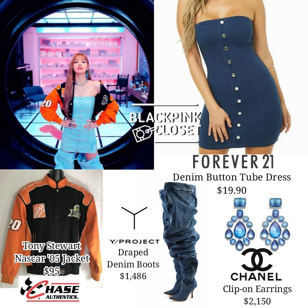 Blackpink Closet On Twitter M V Ddu Du Ddu Du Lisa Y Project