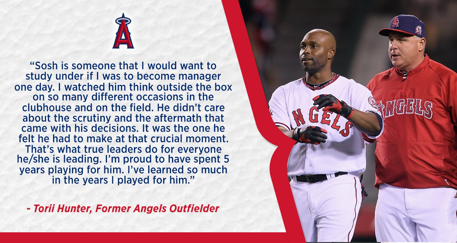 To: Mike Scioscia  From: @toriihunter48 https://t.co/0hcCe5Zcia