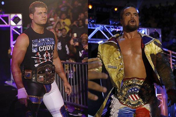 "NJPW:""Fighting Spirit Unleashed"" Golden Lovers, Cody y GOD, ganadores 6"