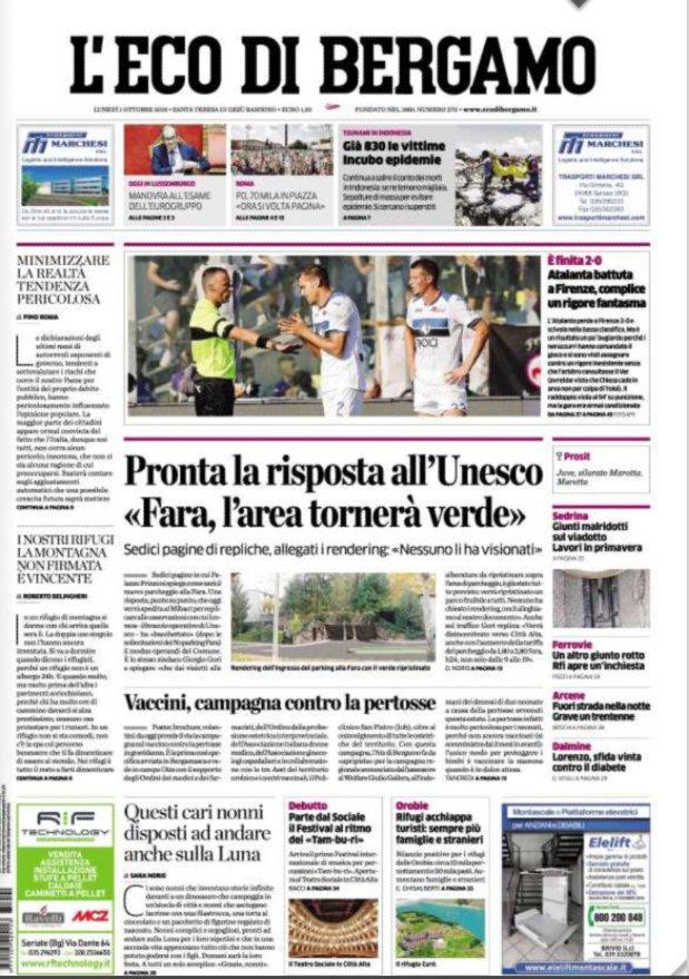 Eco Di Bergamo Oggi
