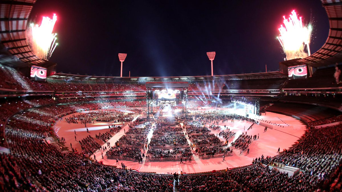 Thanks to the #WWE Universe in Melbourne, Australia, and to our passionate fans around the world for making #WWESSD massive in every sense of the word.