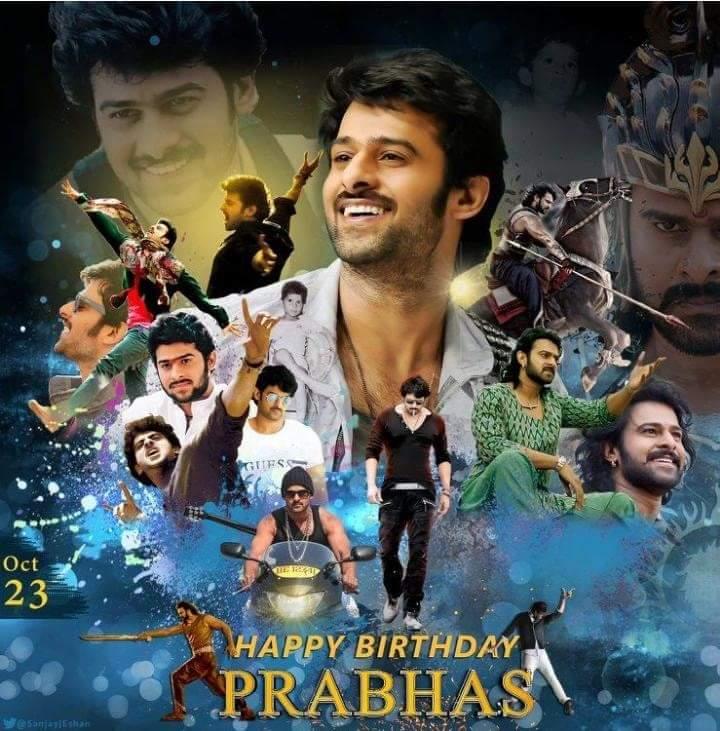 Prabhas On Twitter Edit Ad Happy Birthday