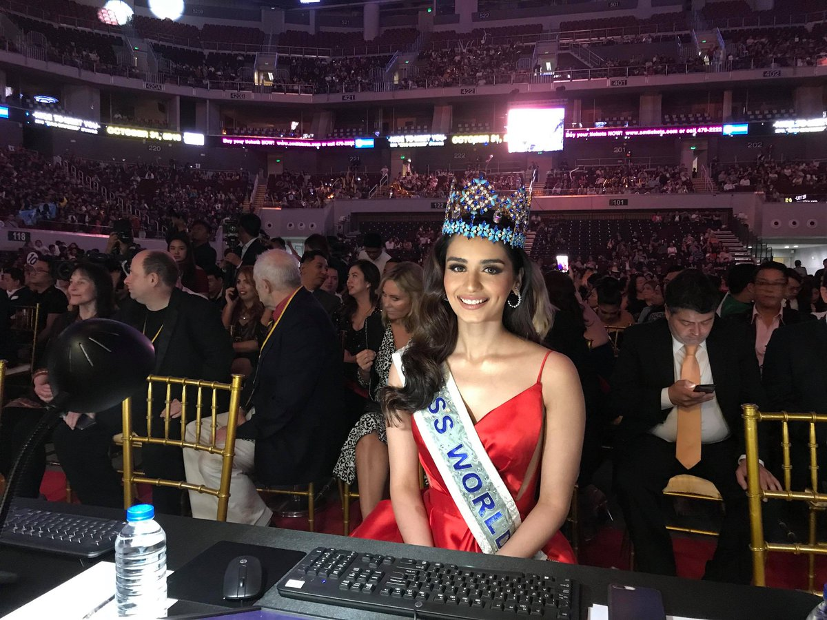 The Official Thread of Miss World 2017 ® Manushi Chhillar - India - Page 6 Do_6dLjV4AA4NAF