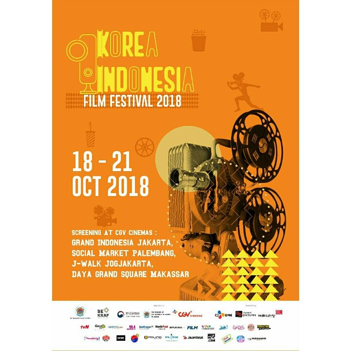 Korea Indonesia Film Festival 2018(saungkorea.com)