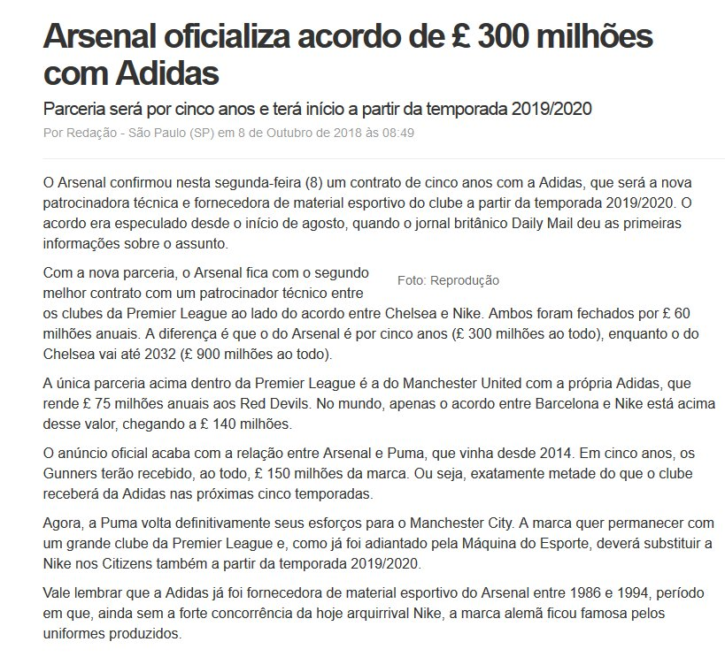 Arsenal Brasil в Twitter