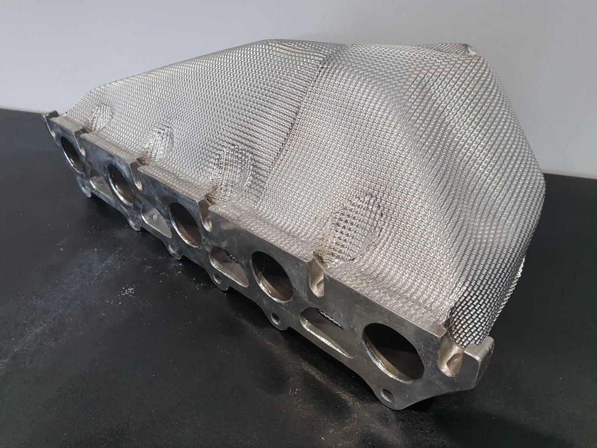 Design Engineering 010455 Muffler Shield//Wrap Kit