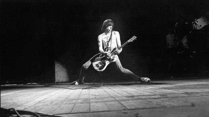 Happy birthday to Johnny Ramone of the Ramones. We miss you!