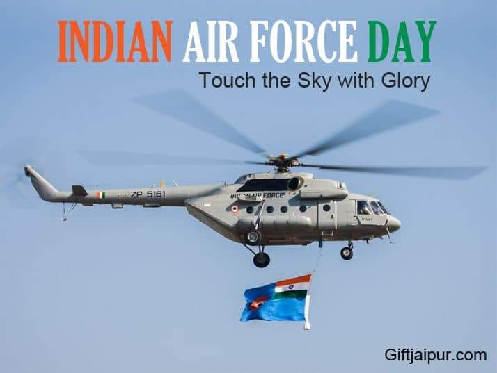 86 Year Of Glory Happy Airforce Day Proud To Be Indian