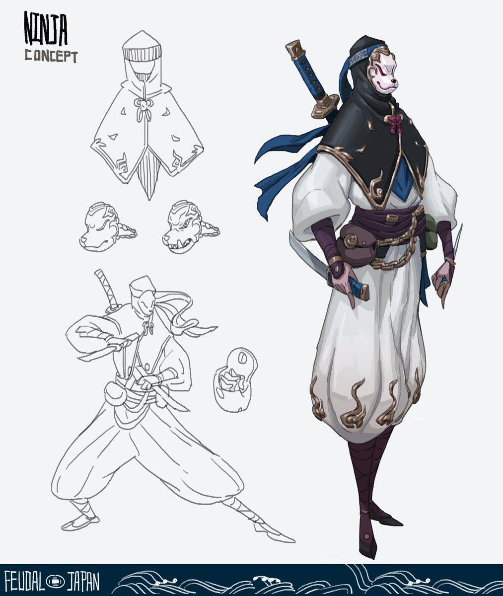 4/8 Ninja and Geisha.