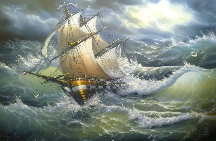 Картинка ветер корабли