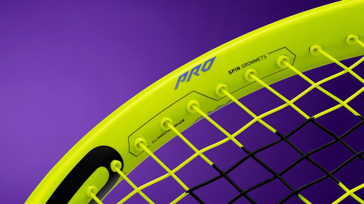 Head Extreme Racquet 360 Spin Grommets