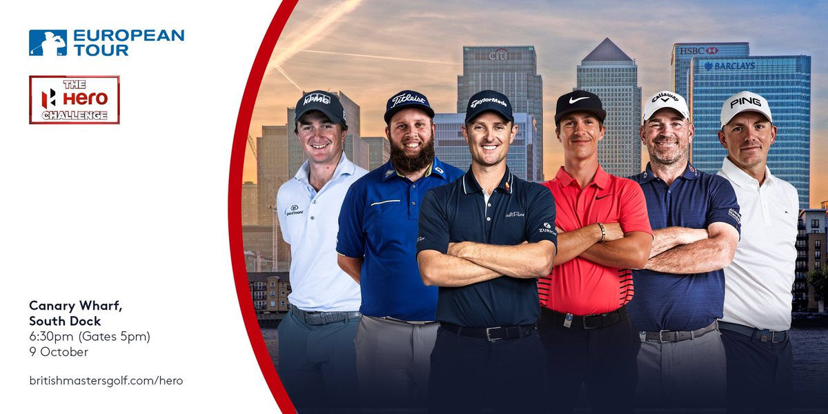 The Hero Challenge has a longstanding history of creating incredible golfing moments globally. Tomorrow, it arrives in London on the iconic stage of Canary Wharf. Who will be the last man standing? Comment your predictions below...👇 Tune in live on @SkySportsGolf from 6.30pm.