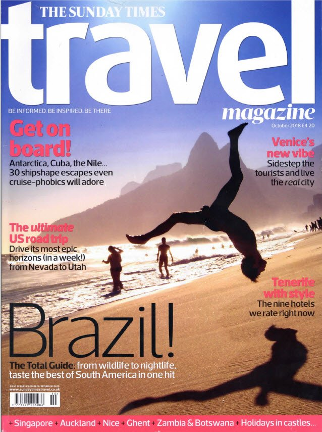 Dont Forget To Grab Yourself A Copy On Your Way Home Tonight And Find Out All The Latest News Developments And Insider Travel Tips From This Stunning