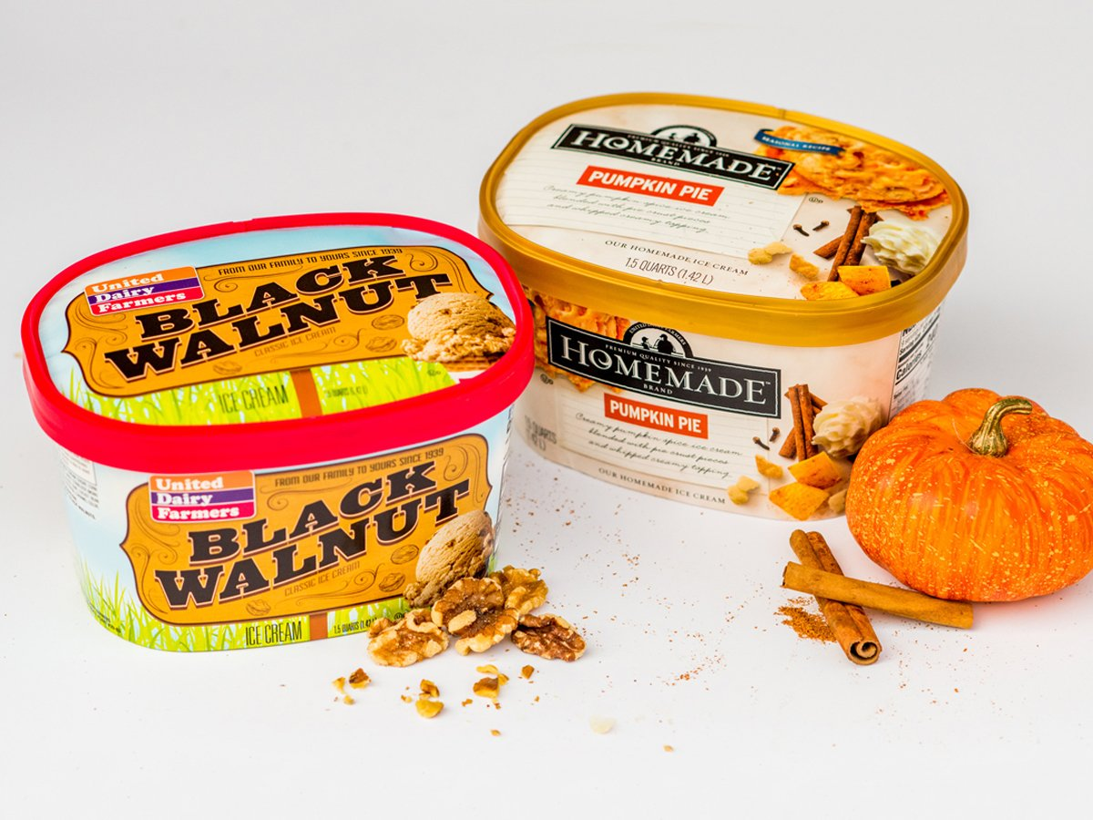 United Dairy Farmers On Twitter Harvest Flavors Now At Seasonal