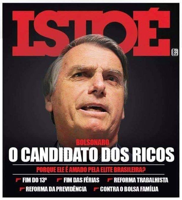 O candidato dos ricos! #AgoraÉHaddad #SegundaDetremuraSDV Photo