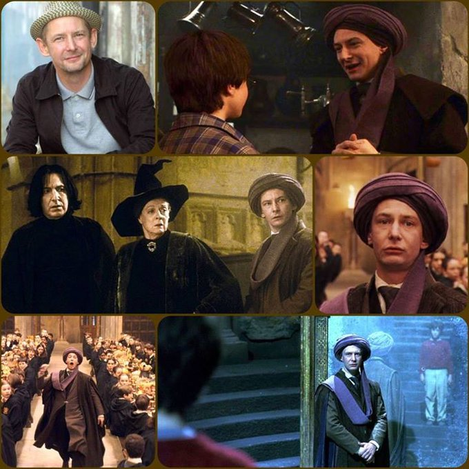 Happy Birthday Ian Hart, who played Prof. Quirinus Quirrel in & much more!