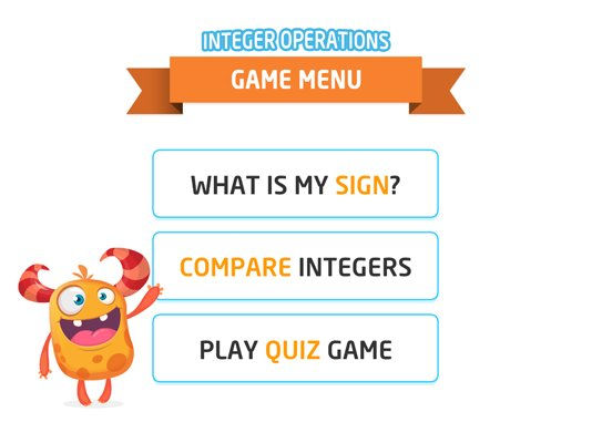 math mini games on twitter math quiz game integer operations now