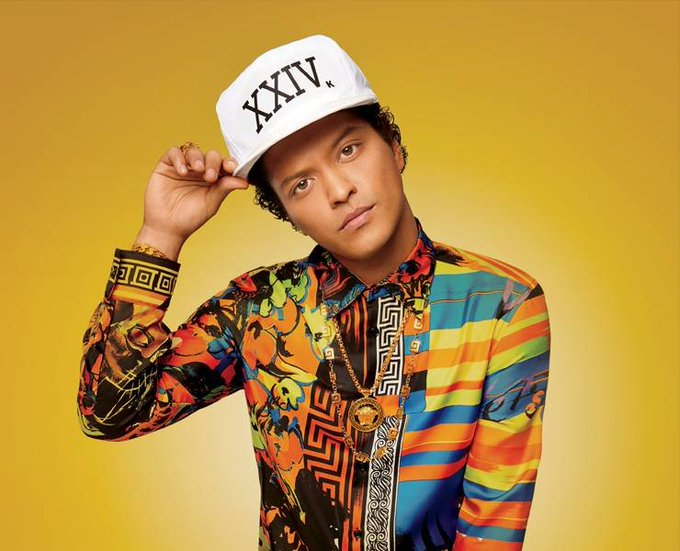 Bruno Mars, Happy Birthday young man. He\s 33 years old.