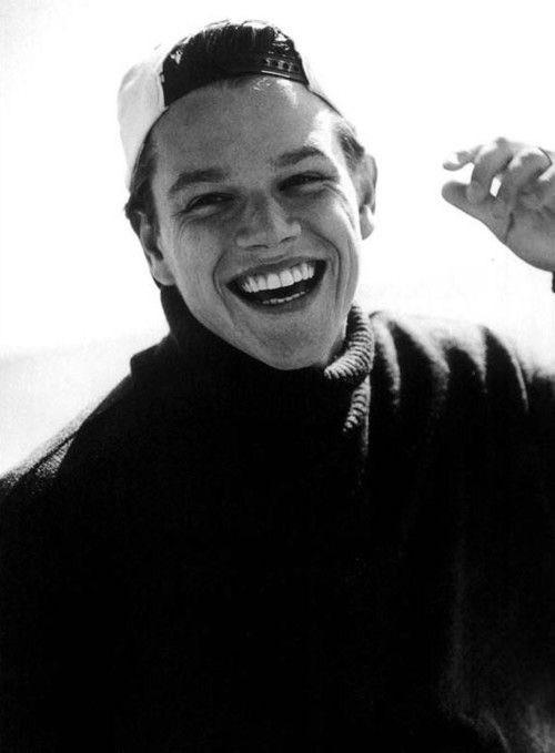 Youth. Happy birthday Matt Damon