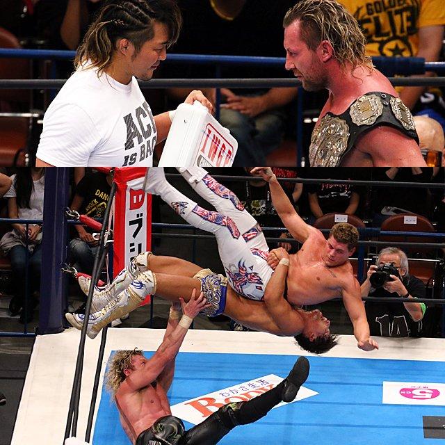 """NJPW:""""King of Pro Wrestling"""" Omega y Tanahashi triunfan, KUSHIDA se corona 12"""