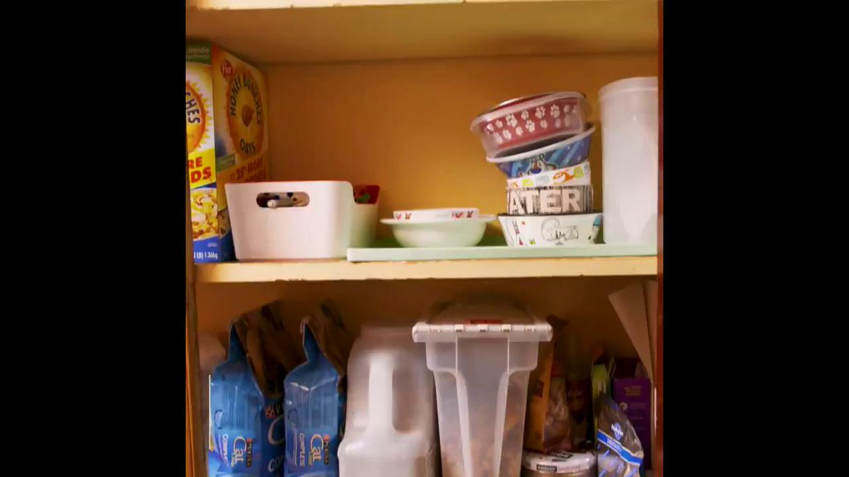 Pinterest is cool, but have you ever seen a pantry get organized IRL? hsbu.us/s1iGs7J