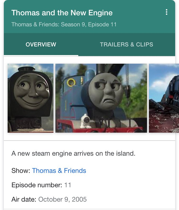 Happy Birthday to Thomas and the New Engine which turns 13 today