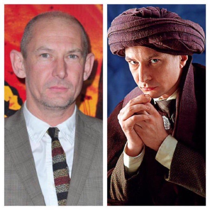 October 8: Happy Birthday, Ian Hart! He played Professor Quirinus Quirrell in Harry Potter and the Sorcerer\s Stone.
