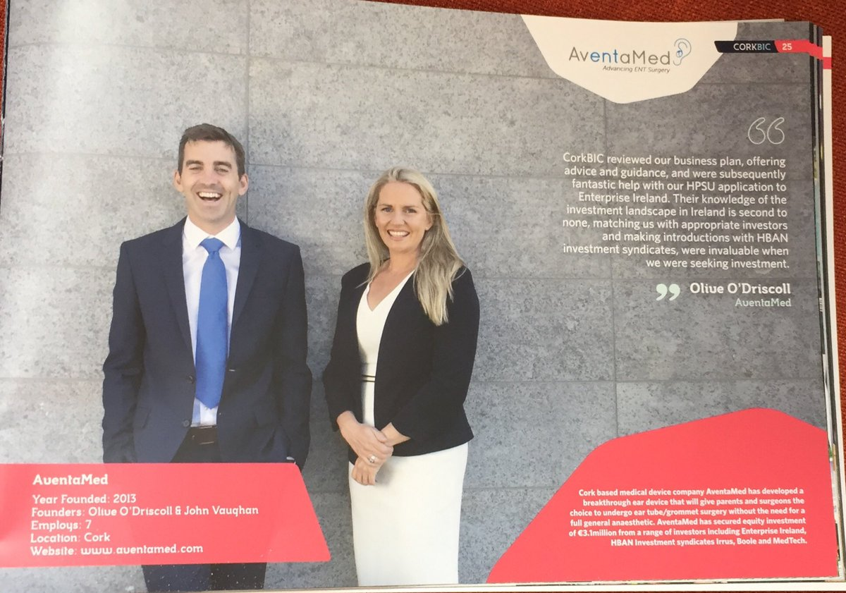 Corkbic On Twitter Their Knowledge Of The Investment Landscape  Corkbic On Twitter Their Knowledge Of The Investment Landscape In  Ireland Is Second To None Says Olive O Driscoll Of Aventamed Corkbic