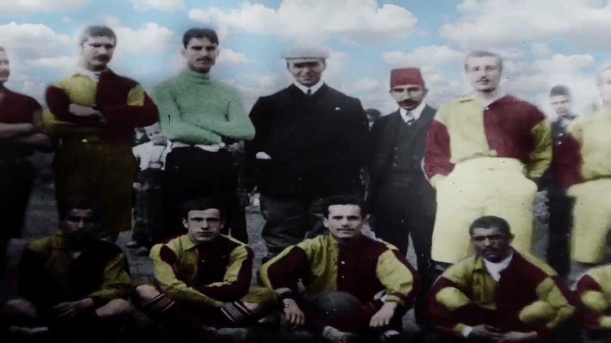 1481den beri kültürün simgesi... 1905ten beri sporun beşiği... ANLI ŞANLI #Galatasaray113Yaşında