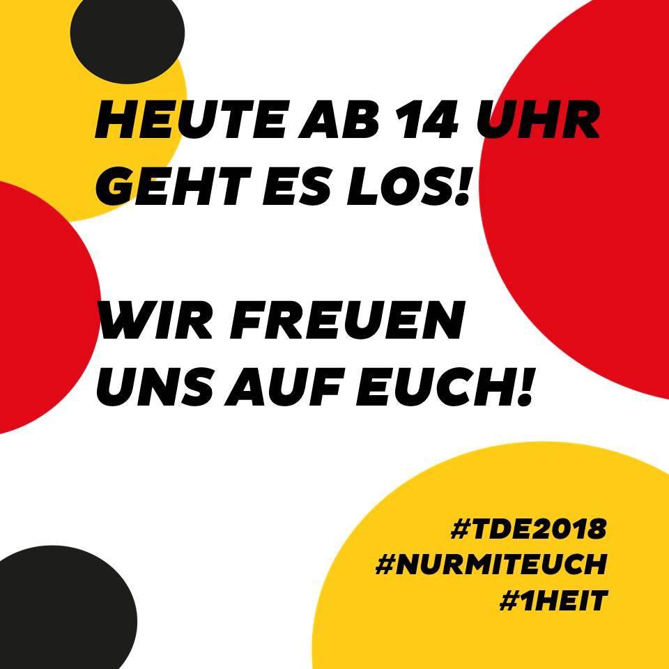 Tag Der Deutschen Einheits Tweet Guten Morgen In Nur