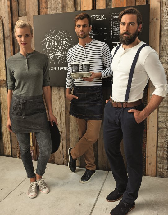 Coffee shop uniform ideas