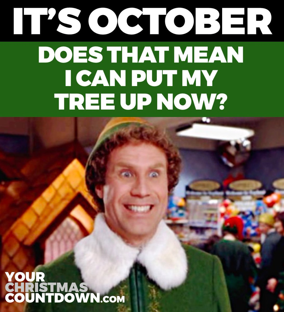 Countdown To Christmas Meme.Your Christmas Countdown On Twitter Can I Put My Tree Up