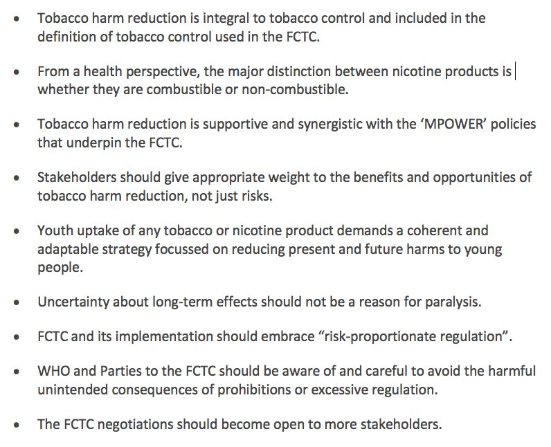 1/3 Letter to @DrTedros @FCTCofficial from 72 specialists warning @WHO it is becoming the enemy of innovation. It should change its prohibitionist outlook to embrace tobacco harm reduction >  1. Letter: https://t.co/79O4eQbsbc 2. Blog: https://t.co/0e0qWLkodr 3. Key points 👇 https://t.co/U9ipz6KABQ