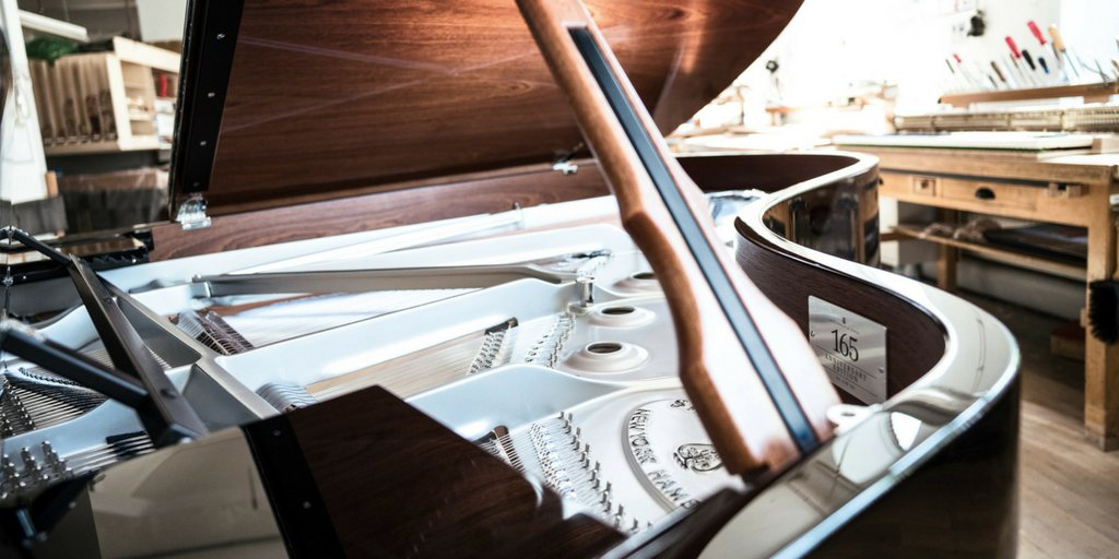 Reloaded twaddle – RT @SteinwayHallUK: The ONE SIX FIVE/ONE is issued as a model B-211 and is equip...
