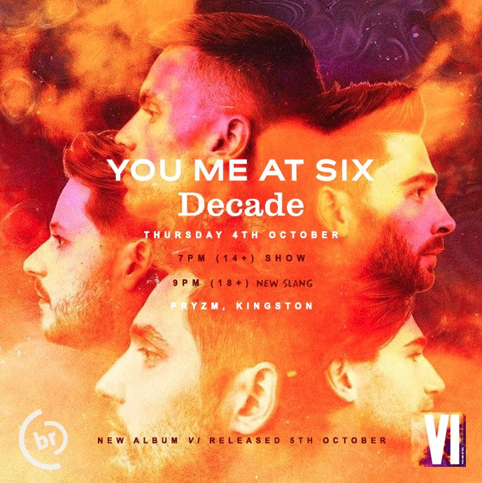This Thursday we're supporting absolute #madlads @youmeatsix at their album release show(s) in Kingston. Tickets are available via the @BanquetRecords store so we'll see you there! https://t.co/1BgxbXREYc
