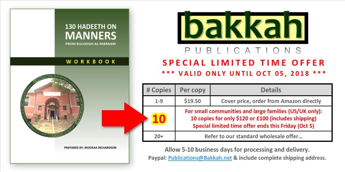 Bakkah Publications on Twitter: