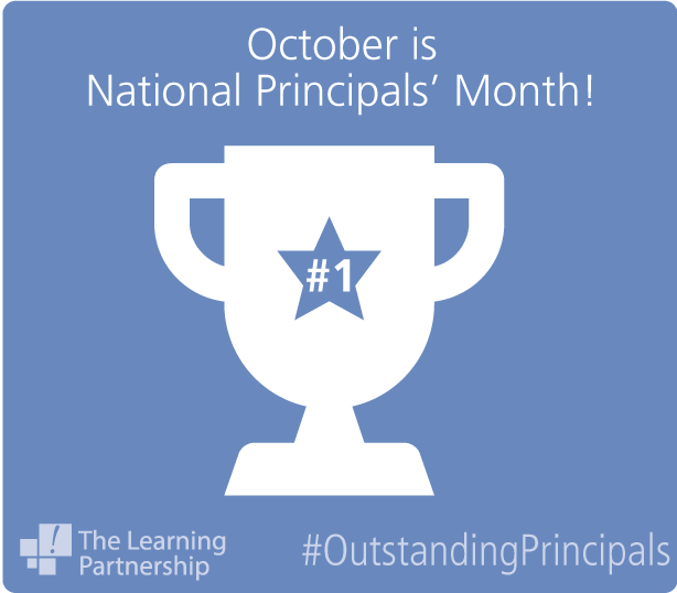 Principals Vital Part Of Special >> The Learning Partnership On Twitter During The Month Of October